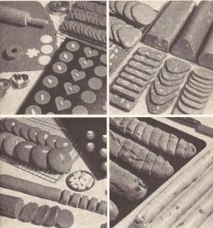 Det finns strängt taget endast fyra olika sätt att baka pepparkakor på