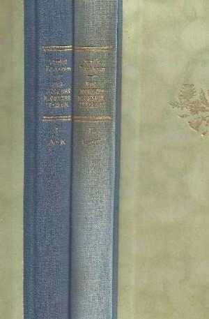 Vivi-Täckholm_Stenlid_-Husmoderns-blomsterlexikon-l-A-K_2_Antikvariat-CITRON.-ryggar