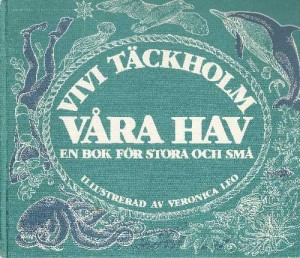 Vivi-Täckholm_Våra-hav-en-bpok-för-stora-och-små_1_Antikvariat-CITRON