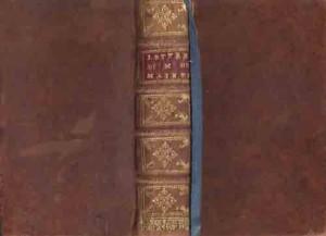 lettres-de-Madame-de-Maintenon-Pärmar