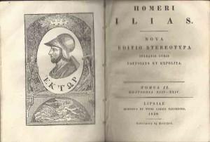 Homeri Ilias 1828