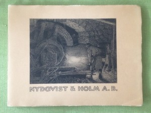 Industrihistoria NOHAB Trollhättan, Lidköping, Forsbacka