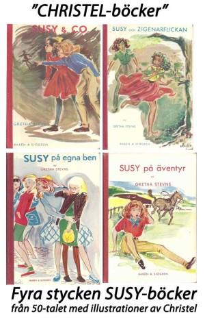Christel-böcker, Susy-böckernas renässans tack vare Christel Marott, den danska mode- och bokillustratören.
