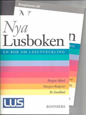 Nva Lusboken + Komplement till Nya Lusboken En bok om läsutveckling ISBN-978-91-622-4498-9