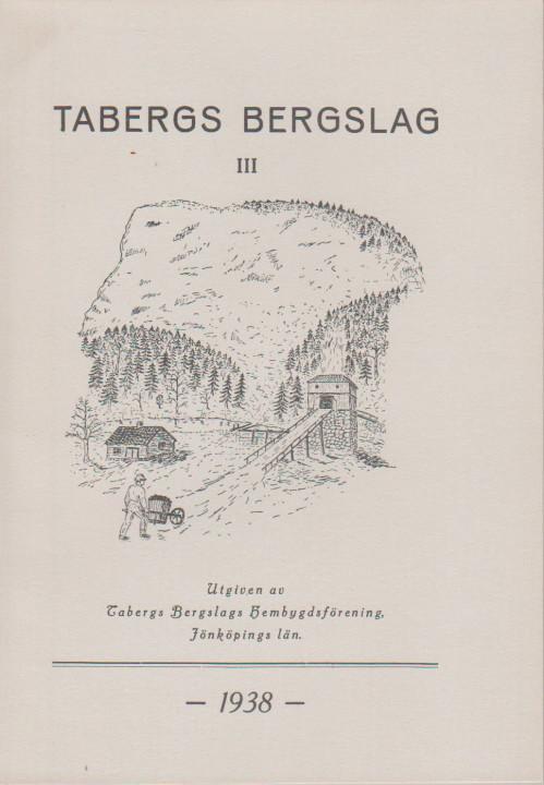 TABERGS BERGSLAG II No 2 1934