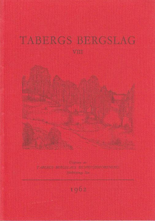 TABERGS BERGSLAG VIII No 8 1962