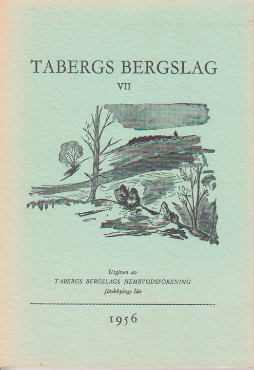 TABERGS BERGSLAG VII No 7 - 1956 -