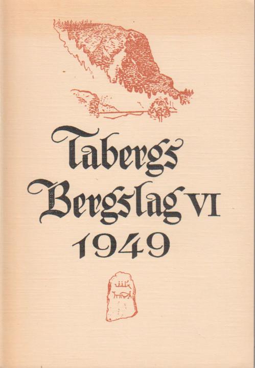 TABERGS BERGSLAG VI No 6 -1949 -