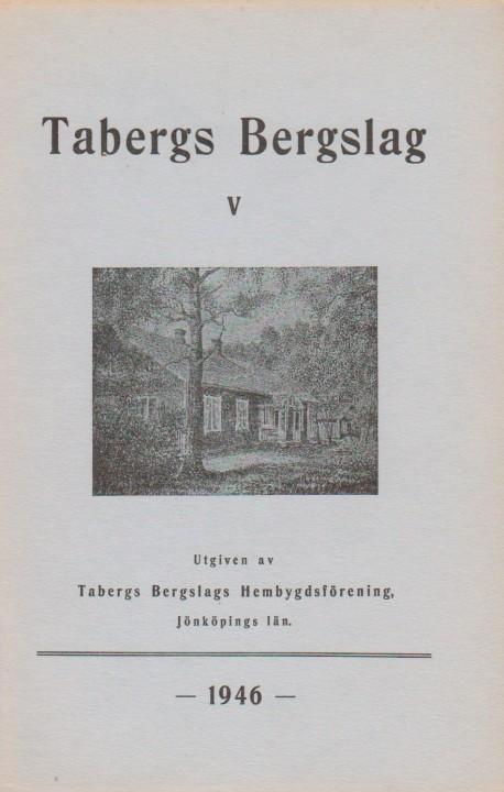 TABERGS BERGSLAG VI No 5 - 1956