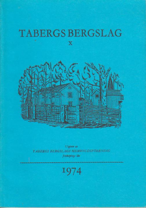 TABERGS BERGSLAG X No 10 1974