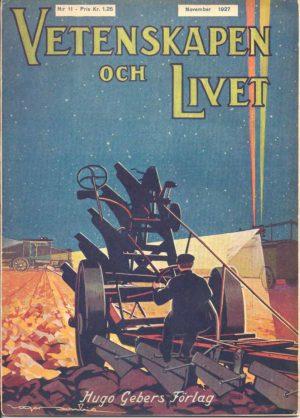 Vetenskapen och Livet Nr 11 November 1927