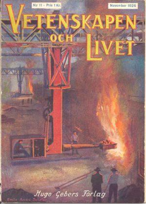 Vetenskapen och Livet Nr 11 November 1925