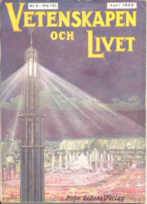 Vetenskapen och Livet Nr 6 Juni 1925