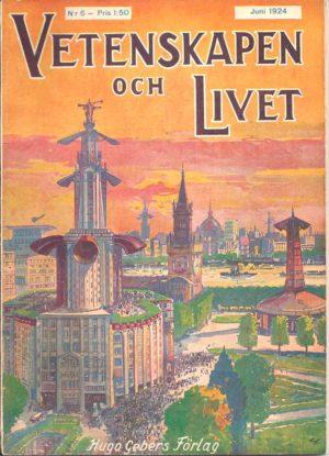 Vetenskapen och Livet Nr 6 Juni 1924