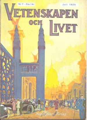 Vetenskapen och Livet Nr 7 Juli 1925