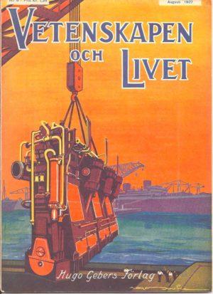 Vetenskapen och Livet Nr 8 Augusti 1927