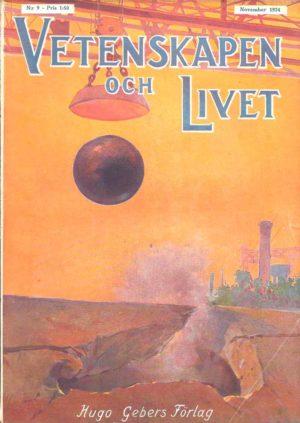 Vetenskapen och Livet Nr 9 November 1924
