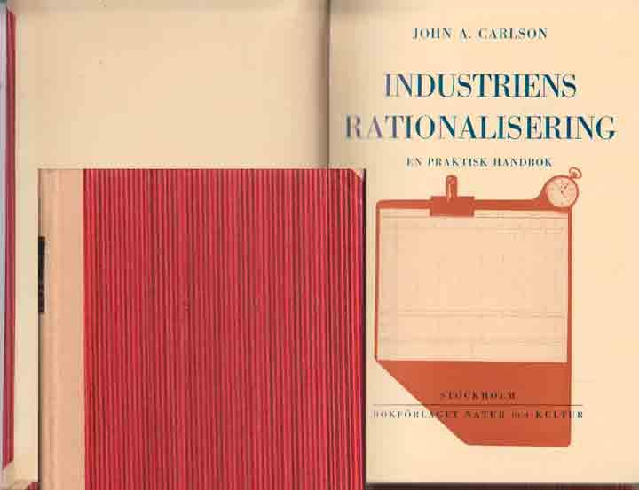 Bilden visar den häftade boken omslag. Här medbundet i Antikvariat  Citrons inbundna exemplar.
